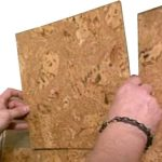 wall tile installation forna cork wall tiles