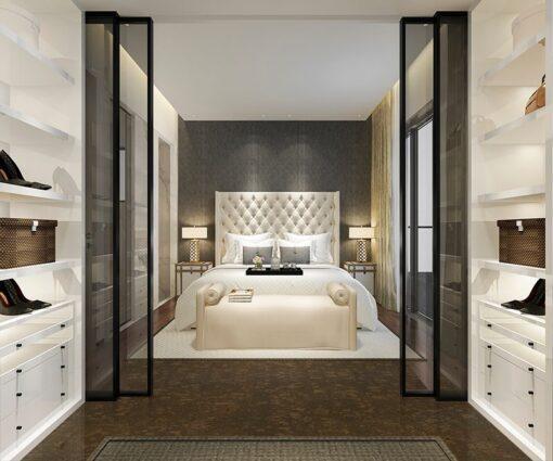 walnut burlwood cork easy to install bedroom floor