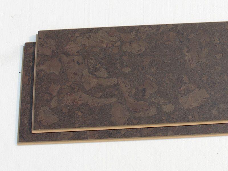 walnut burlwood dark cork floor uniclic plank