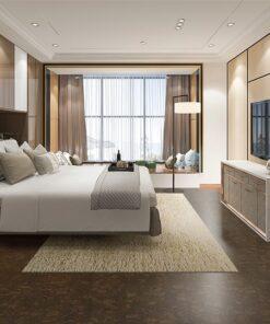 walnut burlwood forna cork flooring eco sustainable floor bedroom