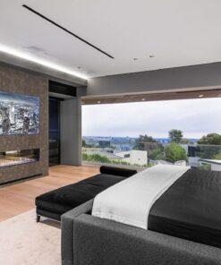 reduce echo in bedroom
