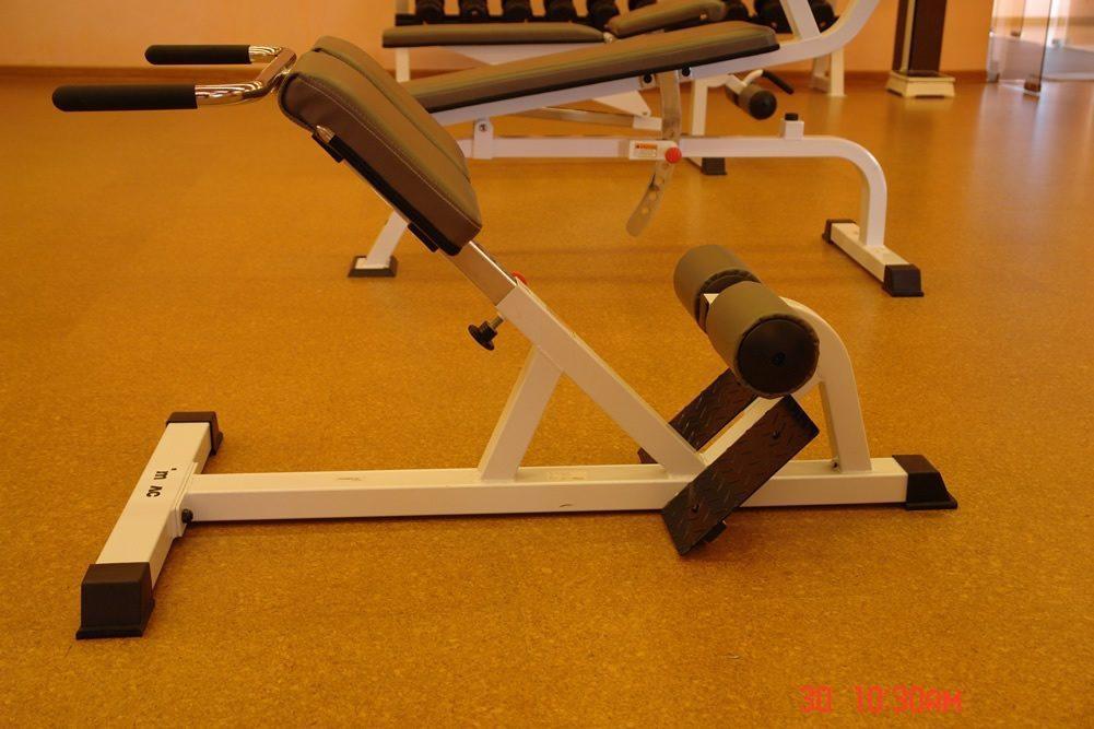 weight room cork flooring