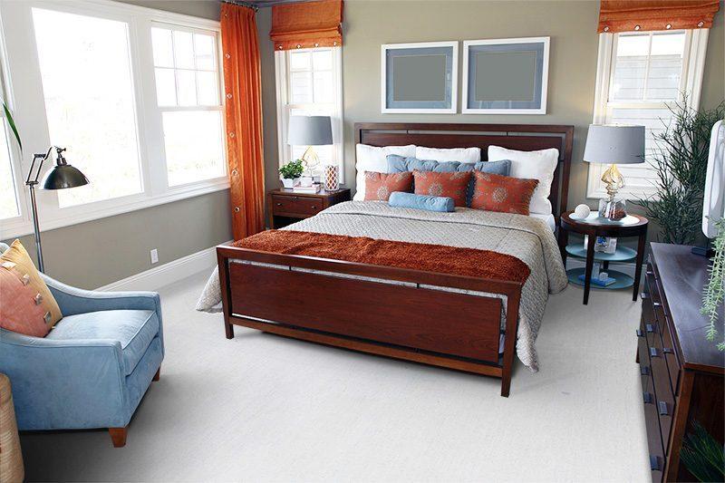 White Floor White Bamboo Mm Floating Flooring - Cork flooring bedroom