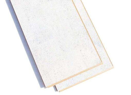 white cork floor white leather forna planks