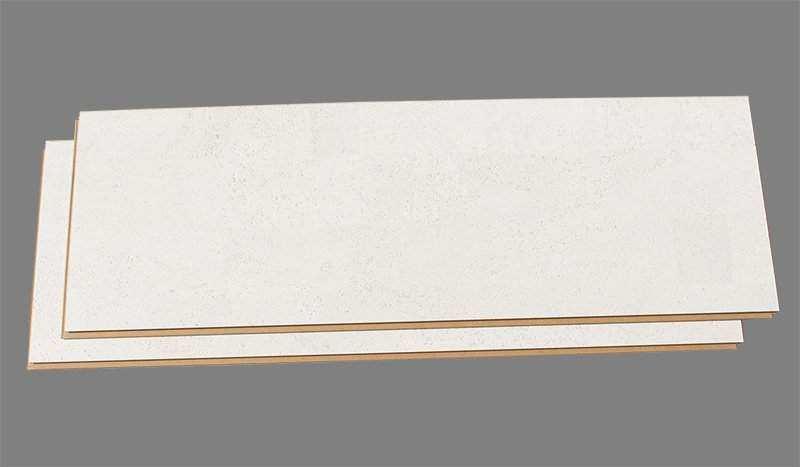 white cork floor white leather planks