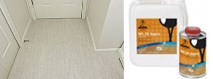 white cork flooring loba 2k supra