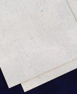 white cork tilles white leather forna