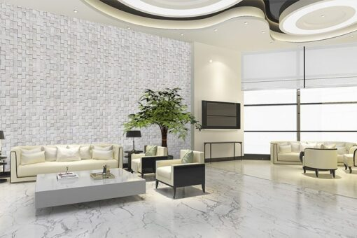 white cubes cork acoustic wall panels eliminate echo control comb filtering reduce noise