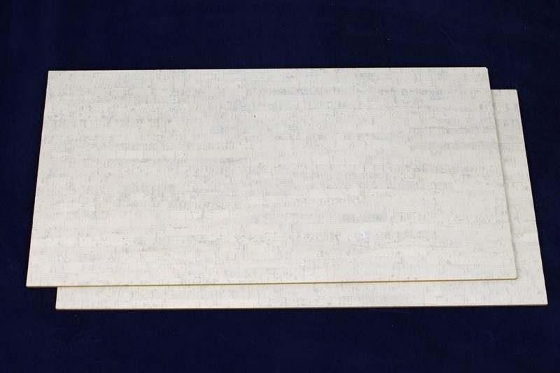 white floor 6mm forna white bamboo cork tiles
