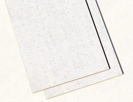 white floor cork tiles 6mm white bamboo forna