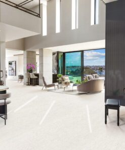 white floor cork white bamboo living room