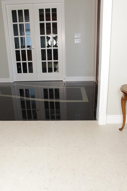 white flooring cremeroyale marble cork