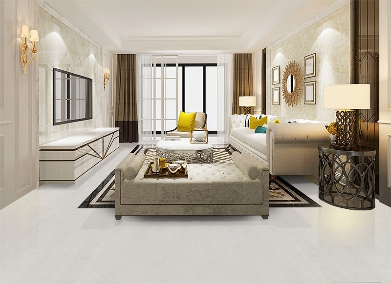 white leather cork eco friendly floor Easy toi nstall tiles living room