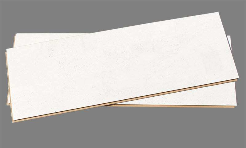 White Cork Floor Leather 12mm