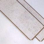 white leather cork flooring plank