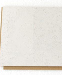 white leather floating cork flooring 12mm sample