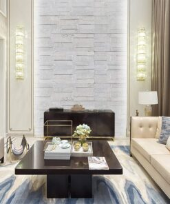 whitewash brick peel and stick self adhesive backing easy installation cork wall panel acoustic insulation living room