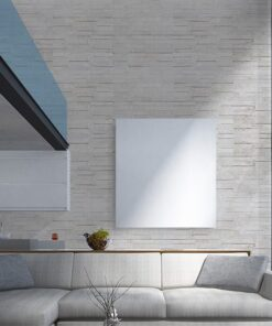 whitewashed brick peel and stick 10mm cork wall tiles reduce airborne noise