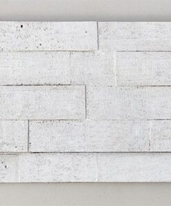 whitewashed brick peel and stick 10mm cork wall tiles sound wall panels