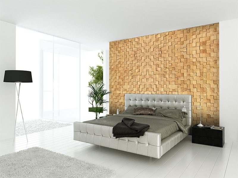 Whitewash Brick Peel Stick 25 64 10mm Cork Wall Tiles