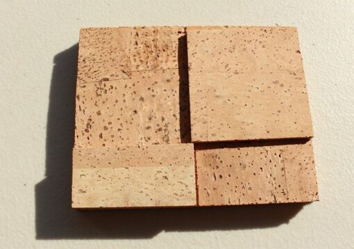 wood cubes sound dampening cork wall panels peel and stick sample