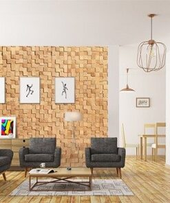 wood cubes sound deadenincork wall panels peel and stick in office living room