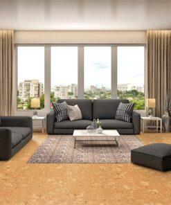 wood ridge cork flooring interior design thermal Insulation beauty natural