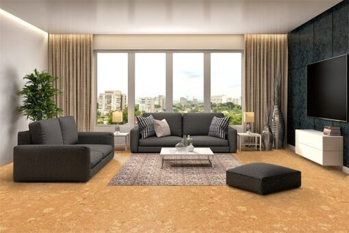 wood ridge cork flooring interior design thermal Insulation beauty natural
